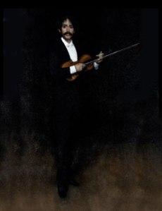 Arrangement in Black: Portrait of Señor Pablo de Sarasate, Whistler, 1884.  Image Courtesy of Wikimedia Commons.