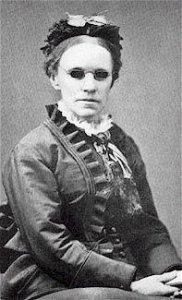 Fanny Crosby, 1872, photo courtesy of Wikipedia