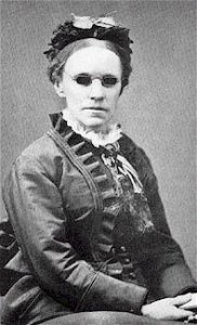 Fanny Crosby, 1872, photo courtesy of Wikipedia